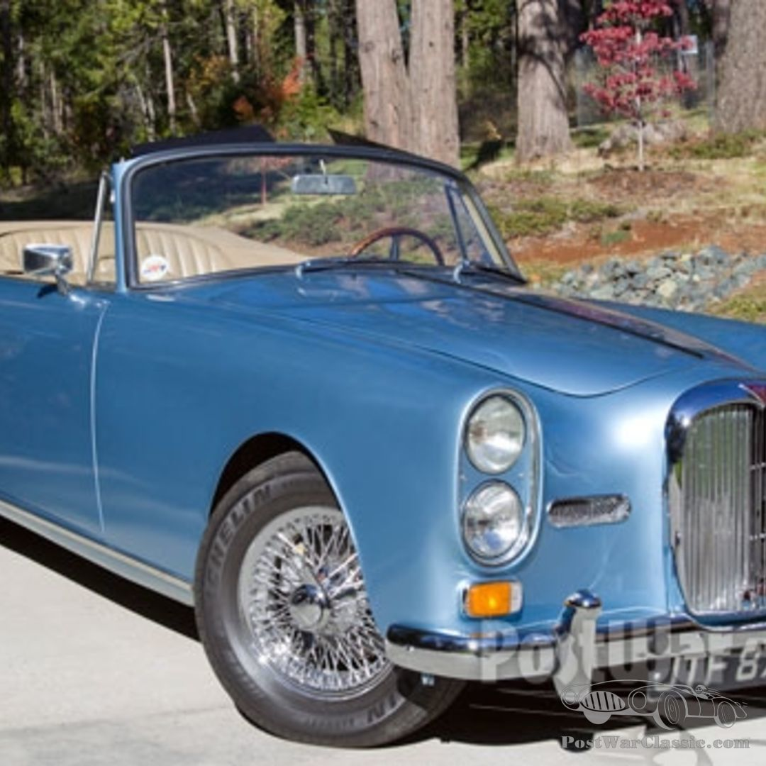 Car Alvis TE21 Series III Drophead Coupe 1964 For Sale