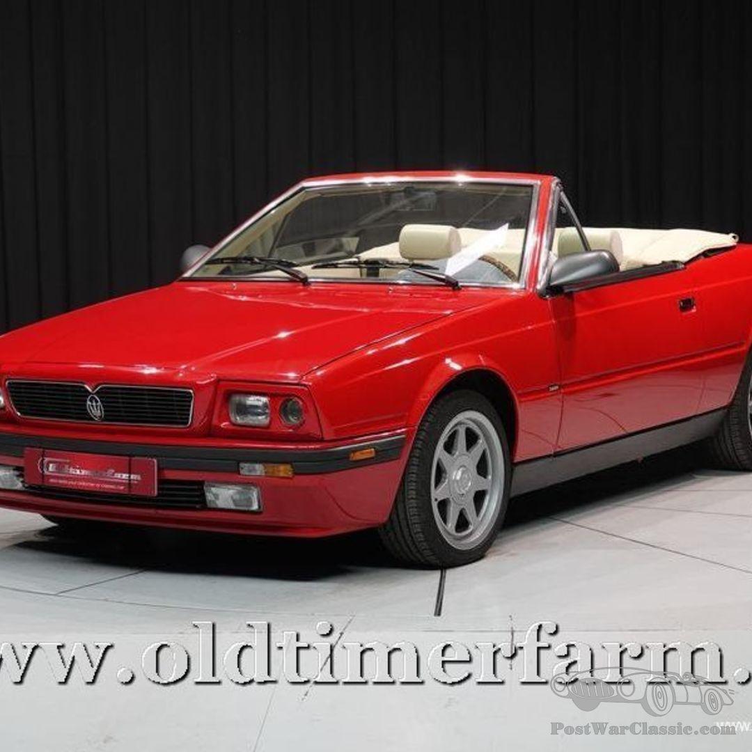 Car Maserati Biturbo 1990 for sale - PostWarClassic