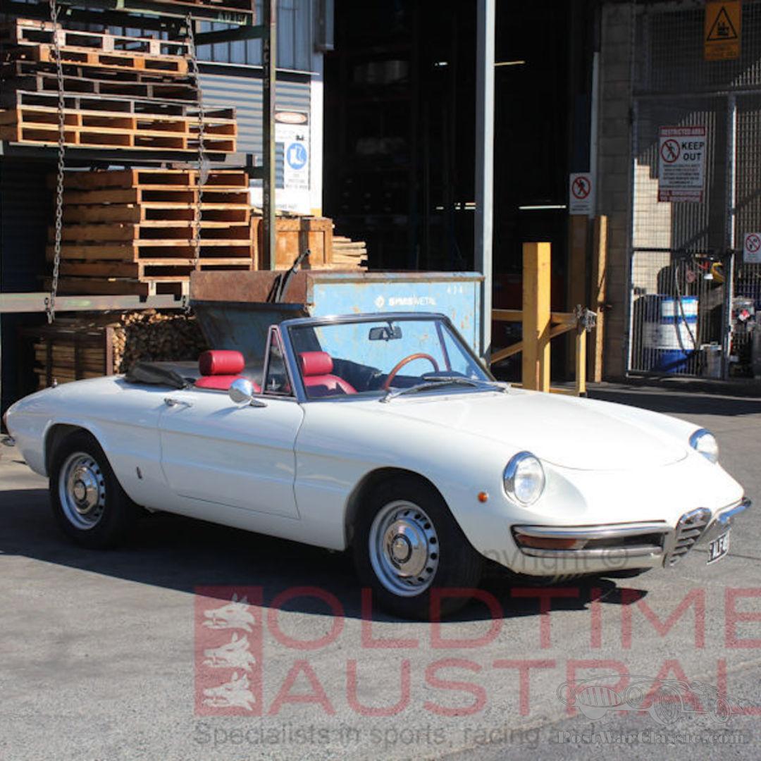 Car Alfa Romeo Convertible 1969 For Sale