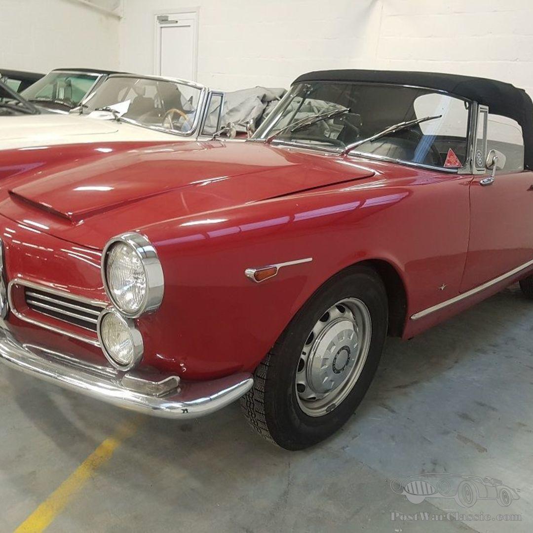 Car Alfa Romeo 2600 Spider 1964 For Sale