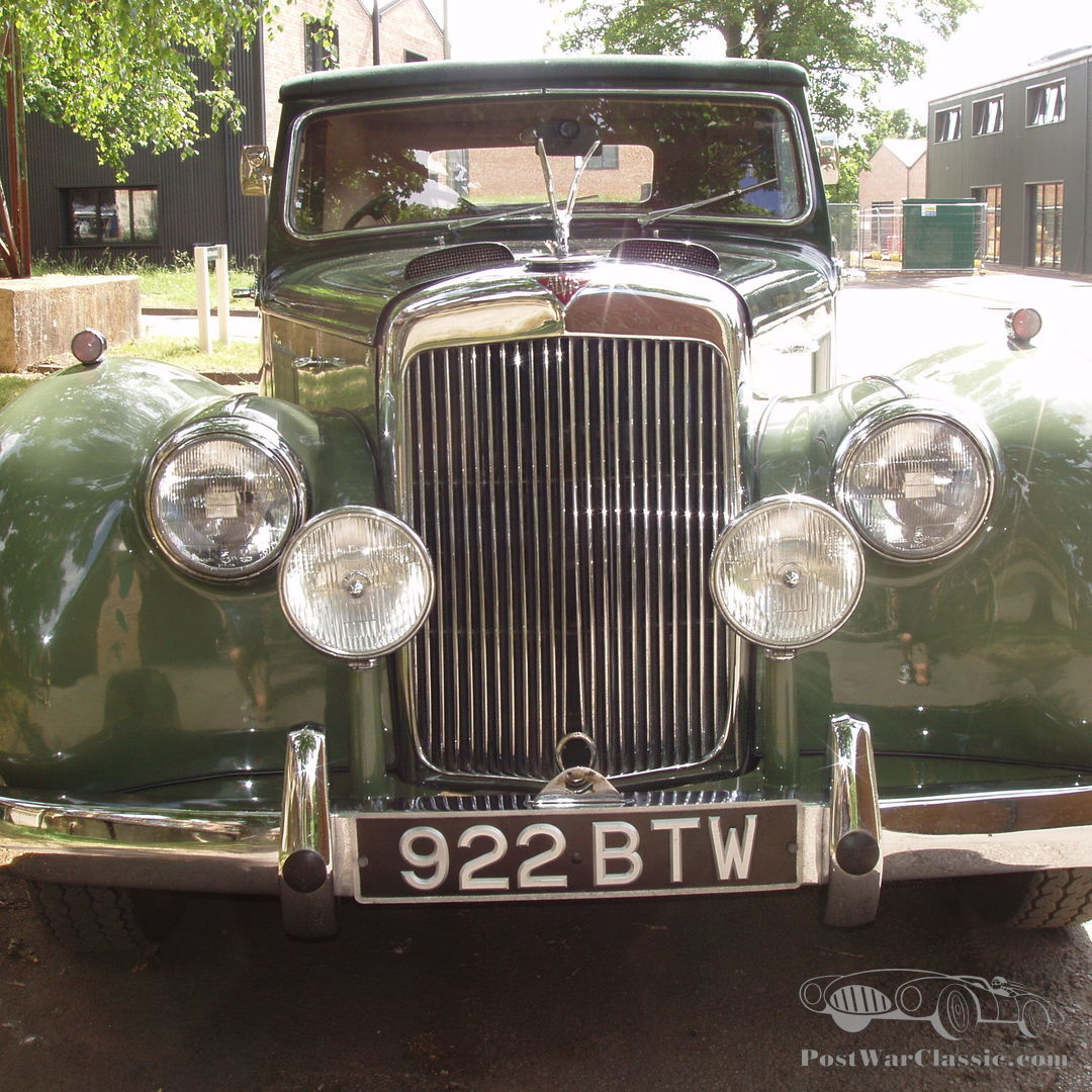 Car Alvis TC21/100 Dhc Grey Lady 1954 For Sale