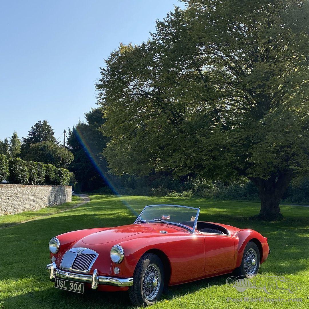 Car Mg Mga 1956 For Sale Postwarclassic