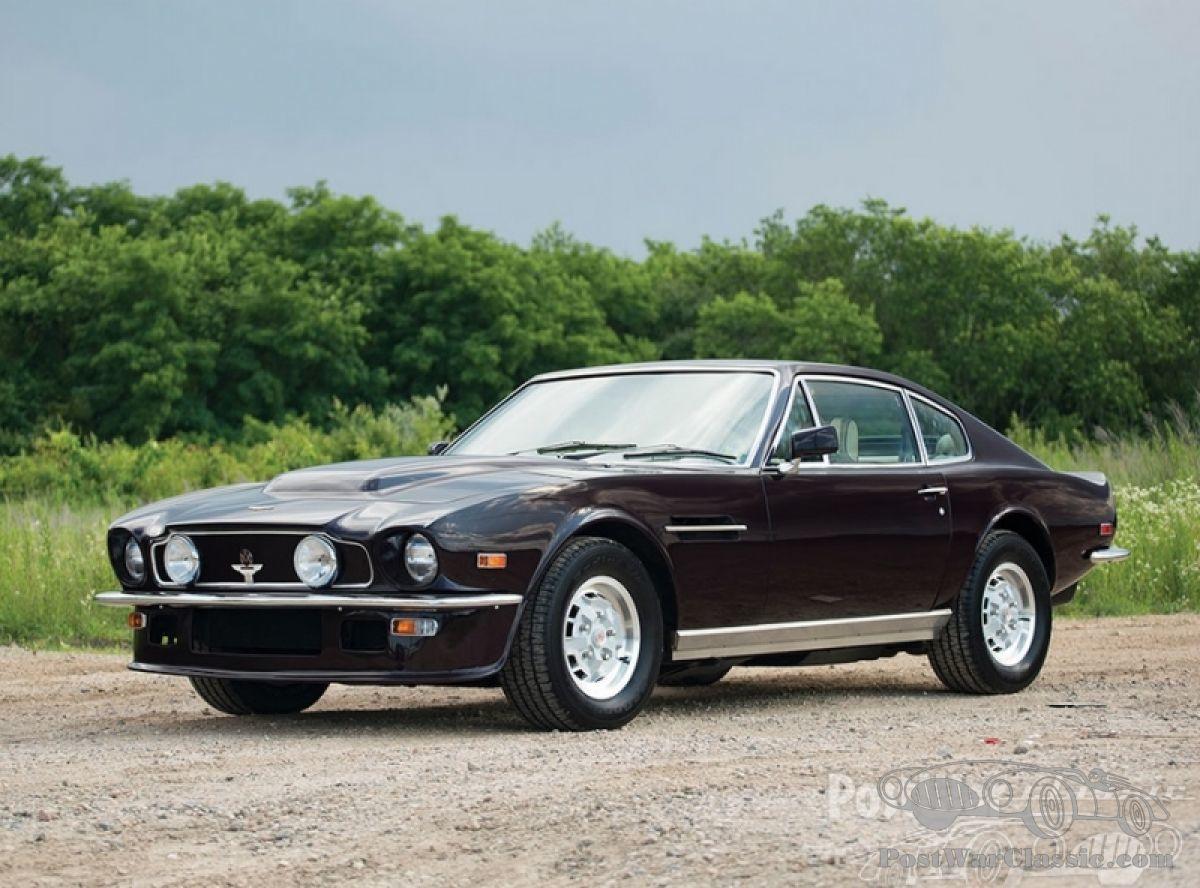 Car Aston Martin V8 Vantage Molded Fliptail 1978 For Sale Postwarclassic