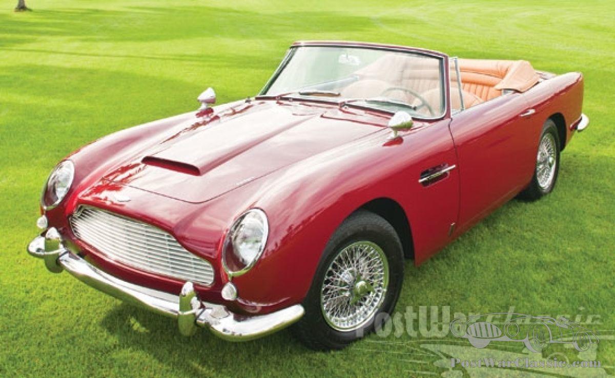 Auto Aston Martin Db5 Vantage Convertible 1965 Zu Verkaufen Postwarclassic