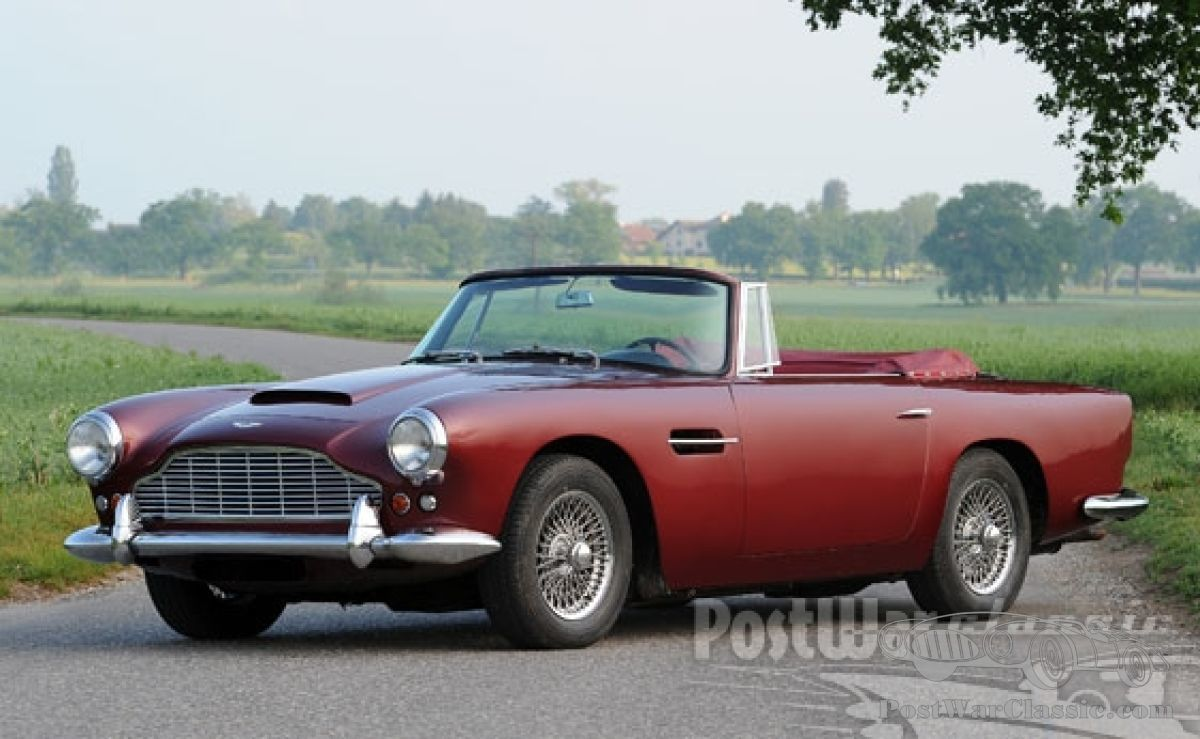 Car Aston Martin Db4 Vantage Convertible 1961 For Sale Postwarclassic