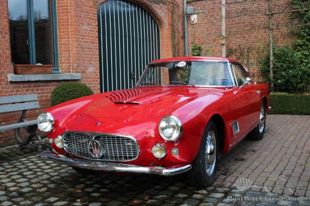 Car Maserati 3500 GT coupé 1959 for sale - PostWarClassic