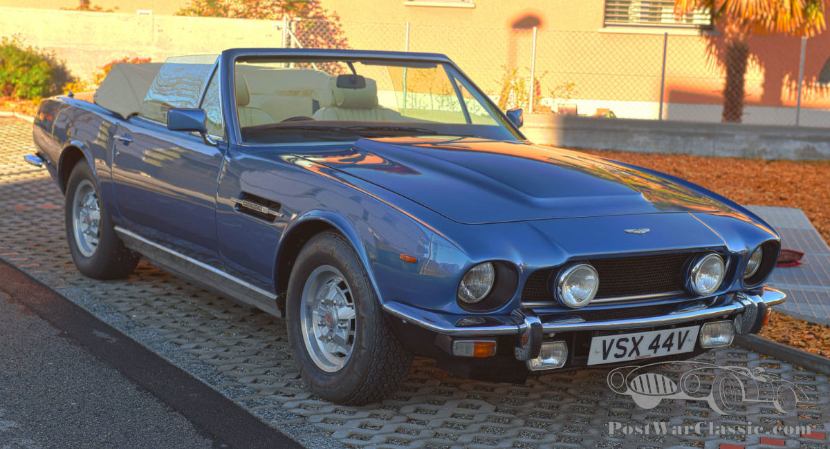 Car Aston Martin V8 Volante 1980 For Sale Postwarclassic