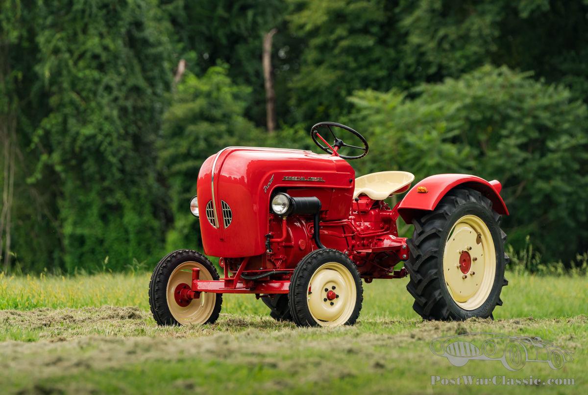 1959 Porsche Diesel Junior 108 Tractor