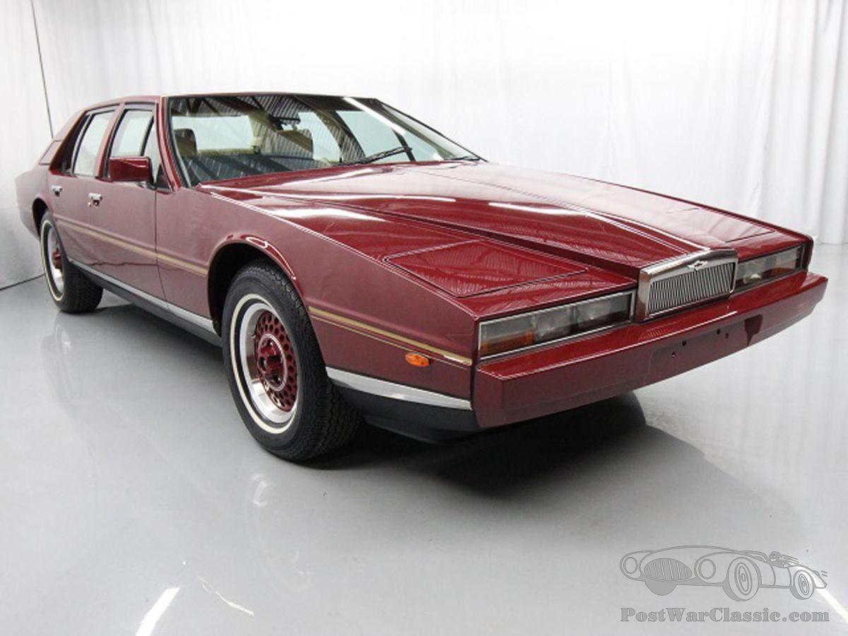 Car Aston Martin Lagonda Sedan 1987 For Sale Postwarclassic