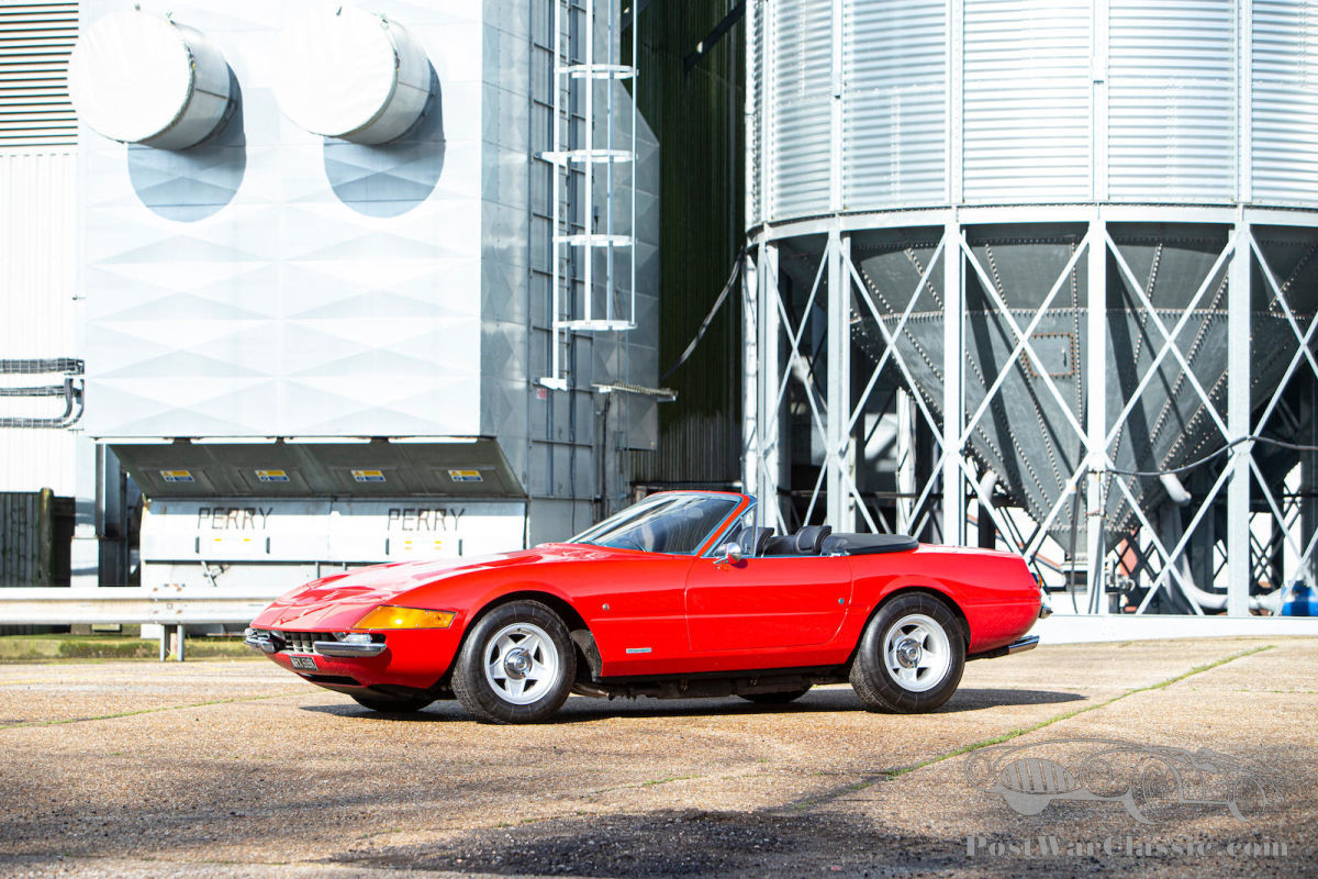 Auto Ferrari 365 Gtb 4 Daytona Spyder Conversion By Autokraft 1971 Zu Verkaufen Postwarclassic