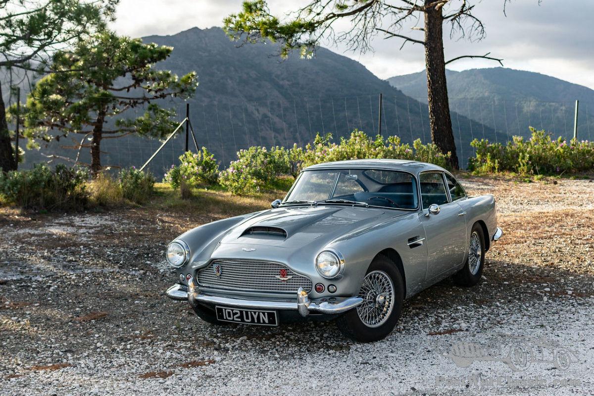 Auto Aston Martin Db4 Series 2 Left Hand Drive 1960 Zu Verkaufen Postwarclassic