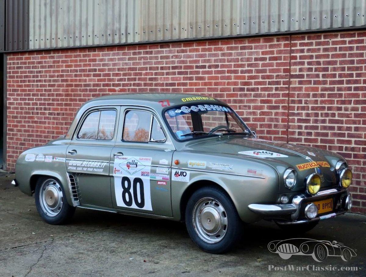 Car Renault Dauphine Gordini 1960 For Sale Postwarclassic