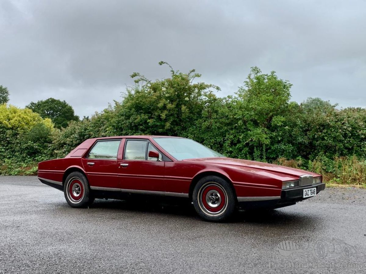 Auto Aston Martin Lagonda Series Ii 1980 Zu Verkaufen Postwarclassic