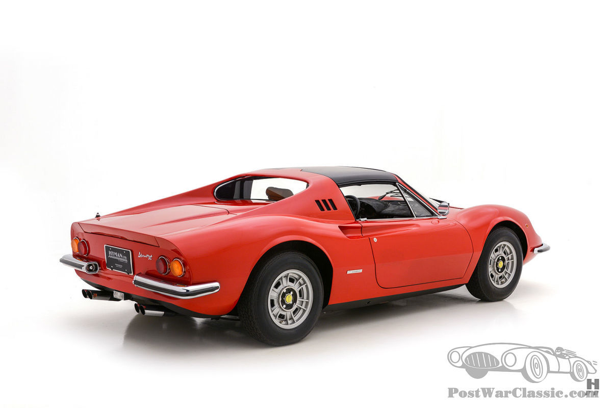 Auto Ferrari Dino 246 Gts 1972 Zu Verkaufen Postwarclassic