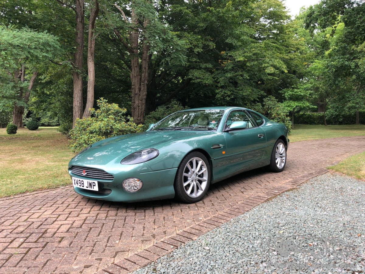 Car Aston Martin Db7 Vantage Coupé 2000 For Sale Postwarclassic