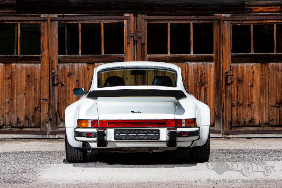Car Porsche 930 Turbo Coupe 1975 For Sale Postwarclassic