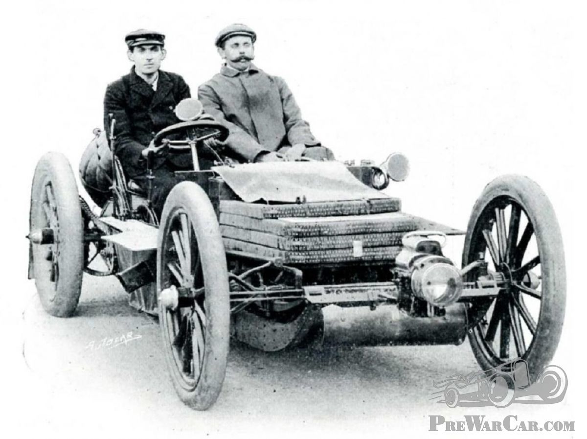 The history of racing cars: Early underslung racers - PostWarClassic